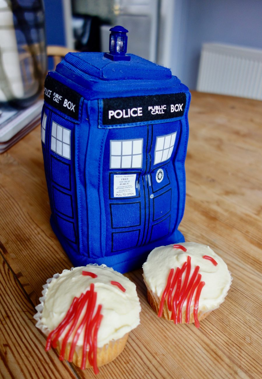 Doctor Who: Ood Cupcakes