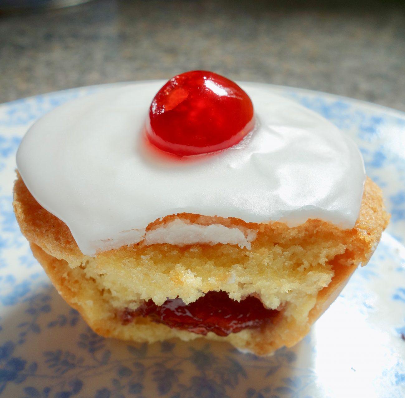Individual Cherry Bakewell Tarts