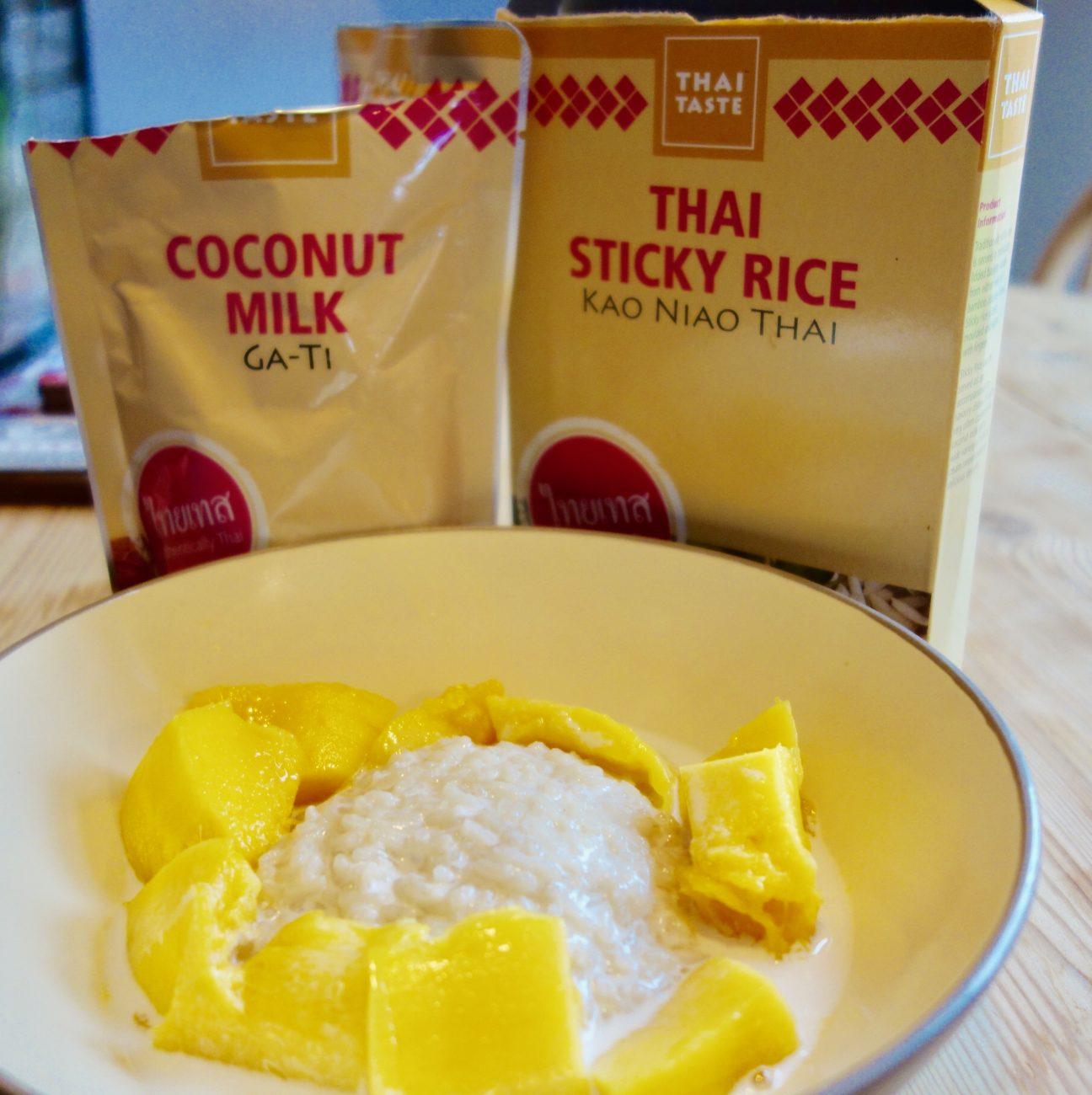 Mango Sticky Rice Recipe With Thai Taste