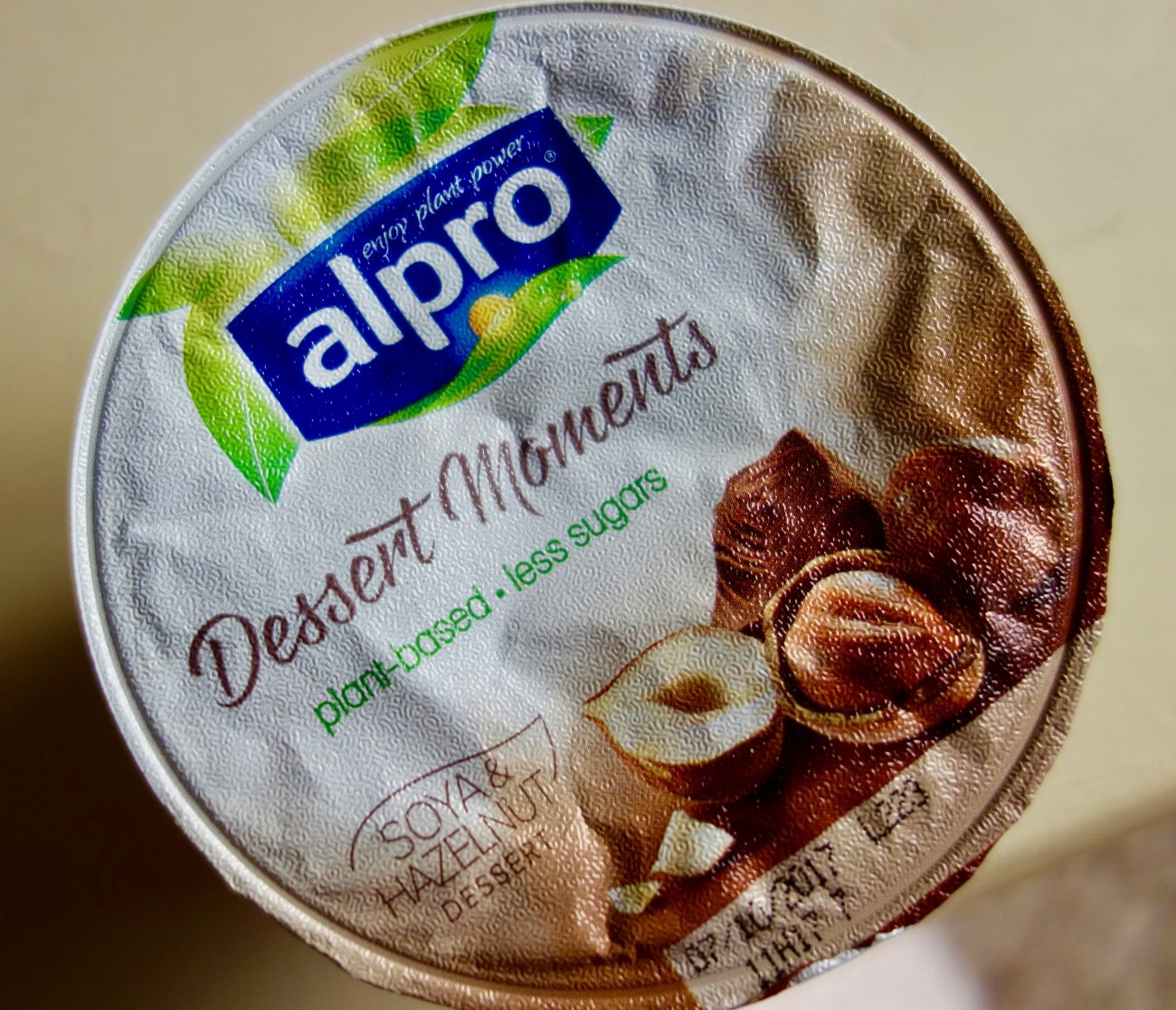 Alpro Dessert Moments Hazelnut Chocolate Sweet Peas