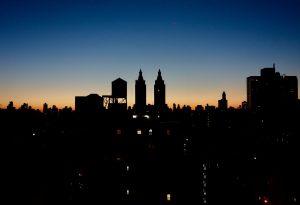 New York 2017 sunrise