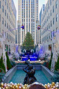 New York 2017 rockefeller christmas tree
