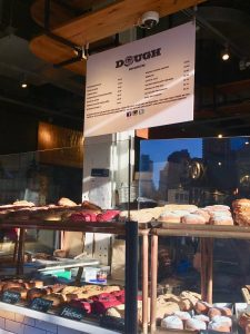 Places to eat in NYC dough
