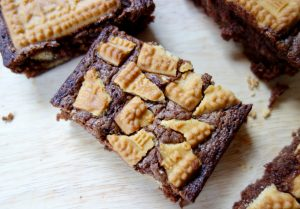 Malted Milk Brownies malted drink