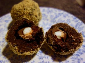 Scotch Chocolate Eggs easter