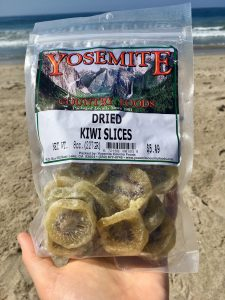 Vegan Yosemite Guide Dried fruit