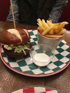 Frankie and Benny's Vegan Menu Viva la vegan burger
