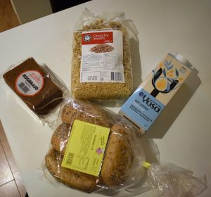 Vegan Iceland grocery shopping