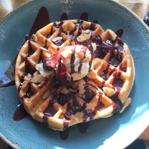 Mildreds vegan London Waffles