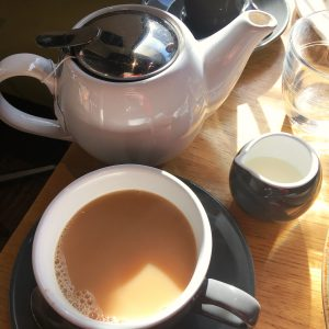 Mildreds vegan London Tea