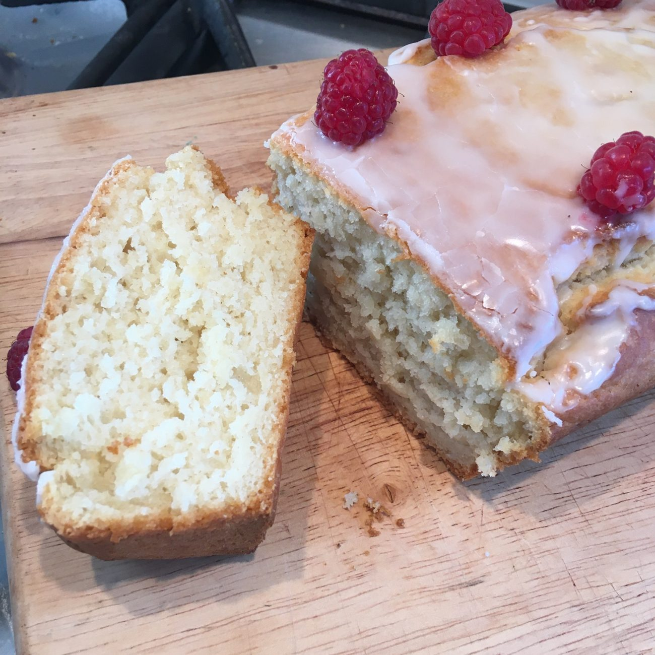 Vegan Lemon Loaf Cake