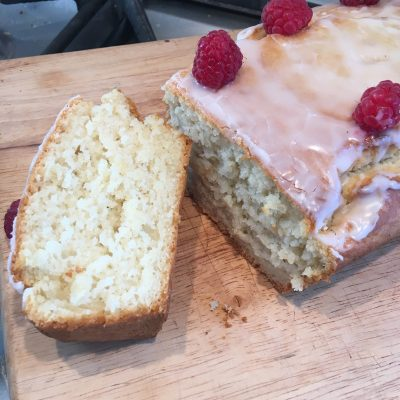 Vegan lemon loaf cake Veganuary