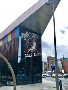 Visiting Manchester Junkyard Golf