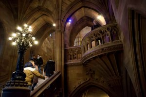 Visiting Manchester John Rylands library
