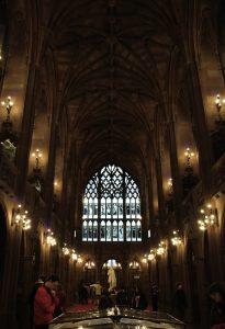 Visiting Manchester Hogwarts John Rylands library